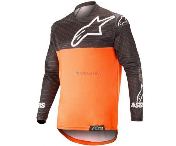ALPINESTARS Jersey: Venture R Offroad, orange/schwarz