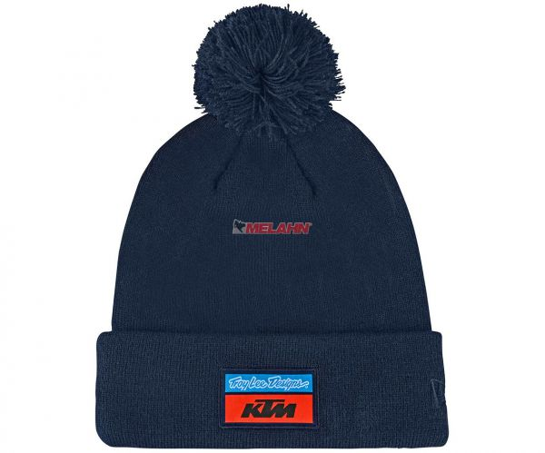 TROY LEE DESIGNS Pom Beanie: KTM Team, navy