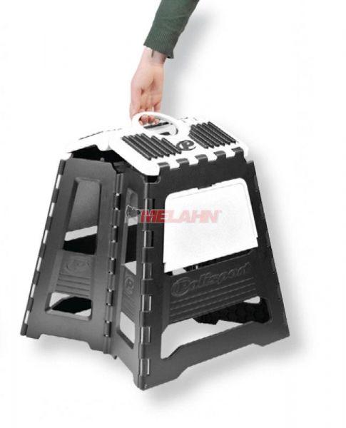 POLISPORT Montagebock faltbar, schwarz/weiß