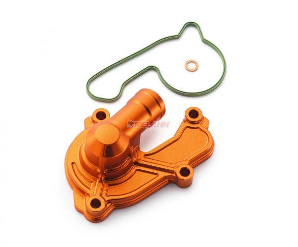 KTM SXS Aluminium-Wasserpumpendeckel 250/350 SX-F 16-, orange