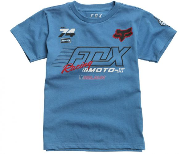 FOX Kids T-Shirt: Flection, blau