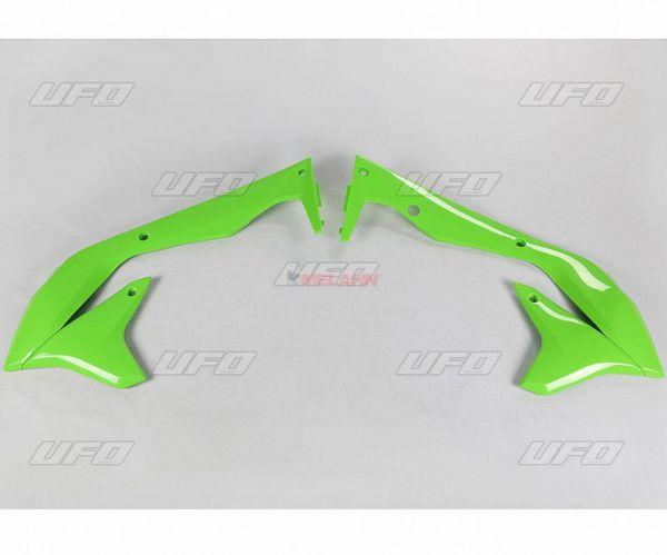 UFO Spoiler (Paar) Kühlerverkleidung KXF 450 16-, weiß