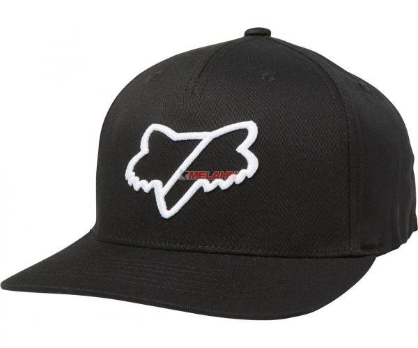 FOX Snapback Cap: Slash, schwarz