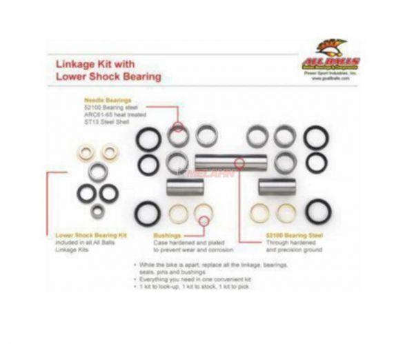 ALL BALLS Lagerkit Umlenksystem RM125/250 02-03