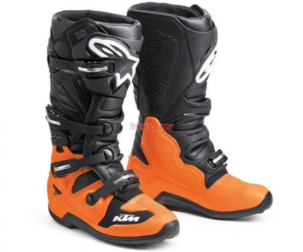 ALPINESTARS Stiefel: KTM Tech 7, schwarz/orange