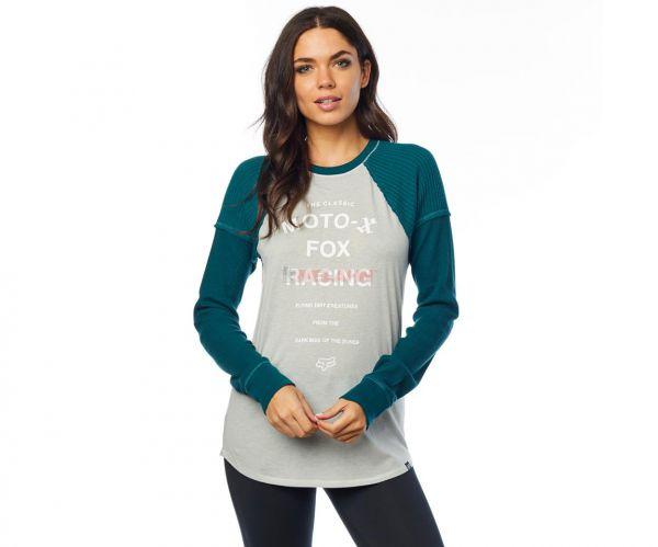 FOX Girls Langarmshirt: Phased Reglan, mint