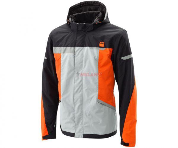 KTM Jacke: Urbanproof, schwarz/grau/orange