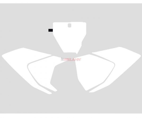 BLACKBIRD Startnummernuntergrund HVA FC/TC/TC 19-, weiß