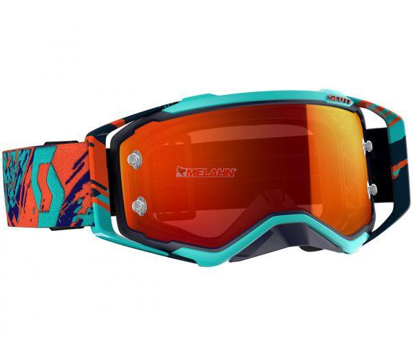 SCOTT Brille: Prospect, blau/orange - orange verspiegelt