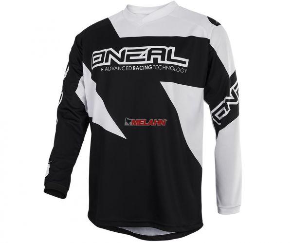 ONEAL Jersey: Matrix, schwarz/weiß