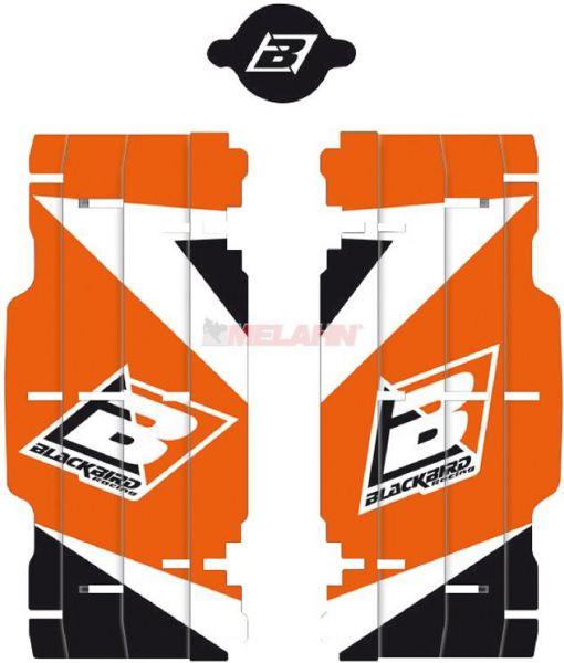 BLACKBIRD Aufkleber Kühlerschutz (Paar), KTM SX 08-15/EXC 08-16