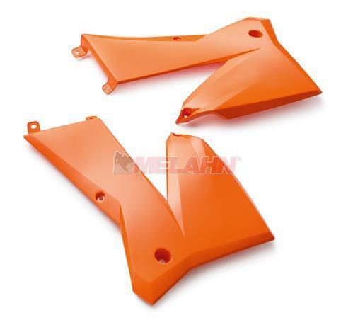 KTM Spoiler (Paar) SX/EXC 03-07, orange