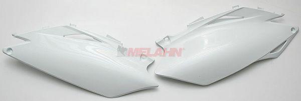 UFO Seitenteile (Paar) CRF 250 2010, 450 09-10, weiß