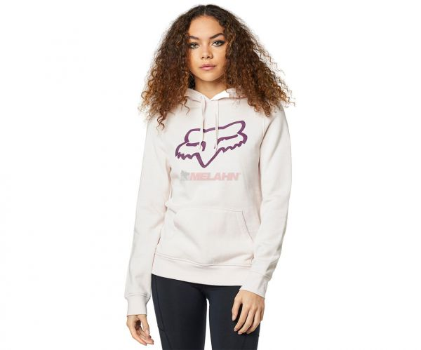 FOX Girls Hoody:Centered Po, hellrosa