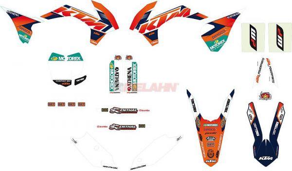 KTM Graphic-Kit: Factory blau, SX 13-15