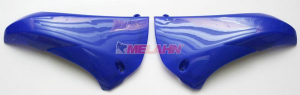 UFO Spoiler (Paar) Kühlerverkleidung oben, YZF 450 10-13, blau