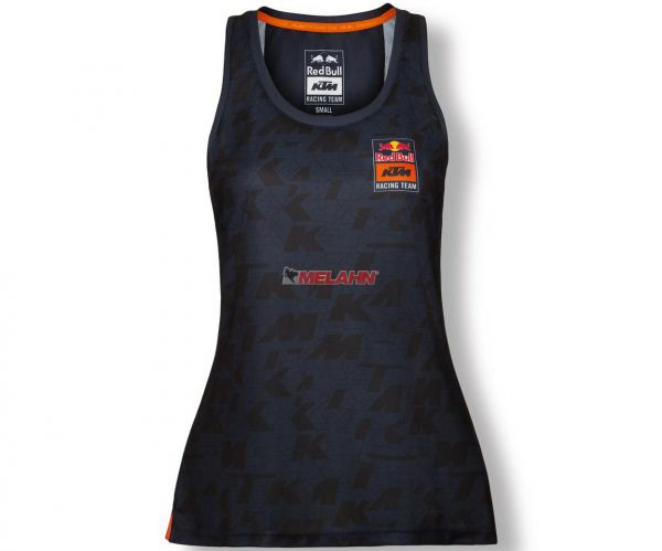 RED BULL KTM Girls Funktions Top: Racing Team, blau