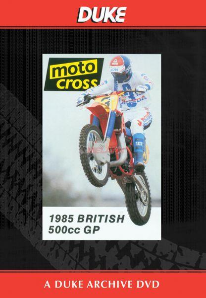 DVD: MX WM 500ccm von 1985, Great Britain