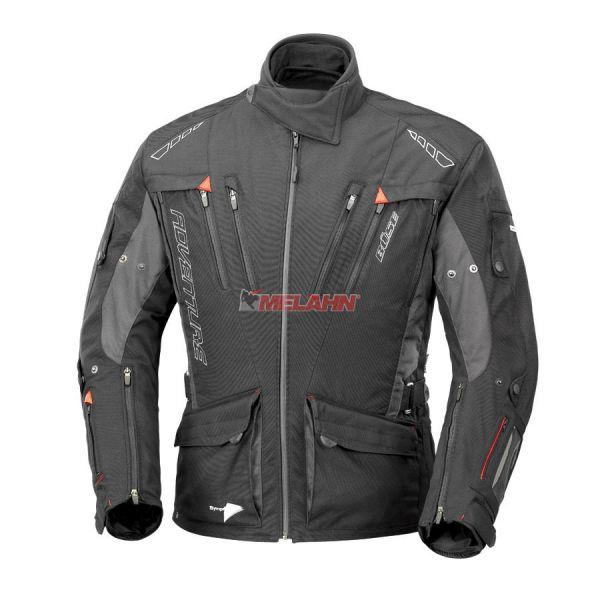 BÜSE Jacke: Adventure STX, schwarz/dunkelgrau