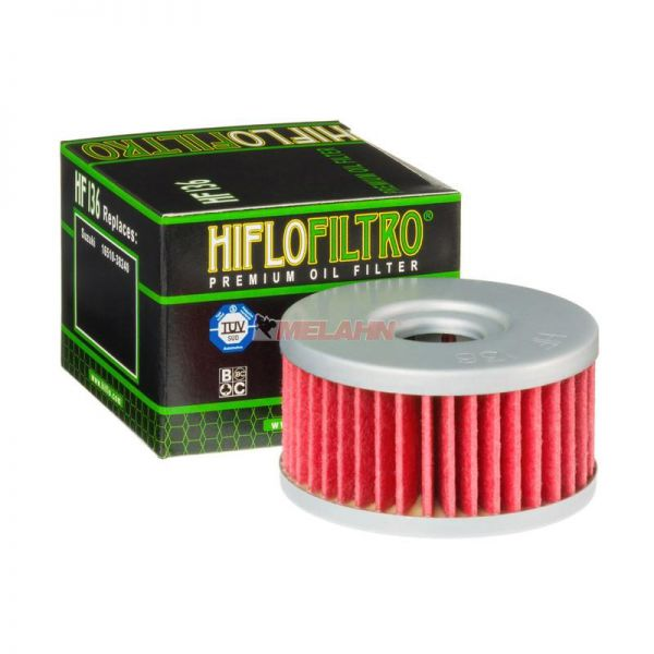 HIFLO Ölfilter HF136, Suzuki DR 350 1990-1999