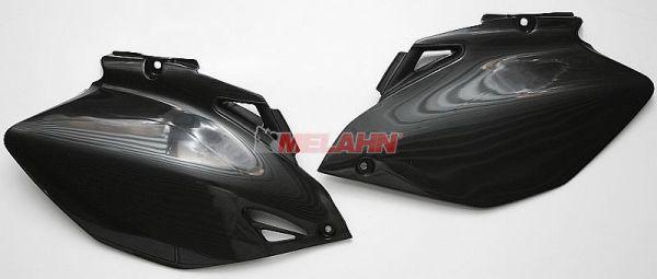 UFO Seitenteile (Paar) YZF 250/450 06-09, schwarz