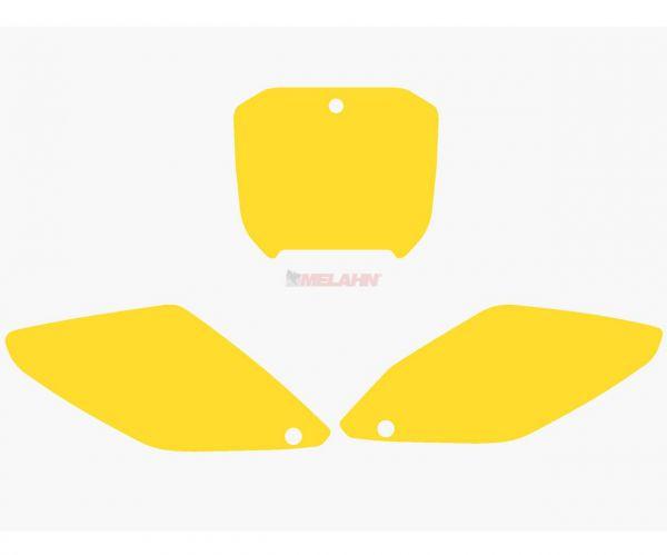 BLACKBIRD Starttafelfolie CR 125/250 02-03, gelb