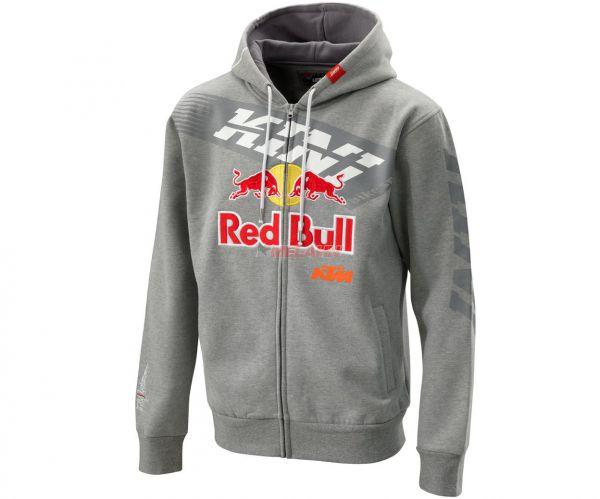 KINI-Red Bull Zip-Hoody, grau