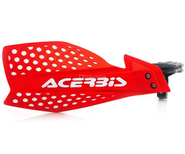 ACERBIS Handprotektor (Paar): X-Ultimate, rot/weiß