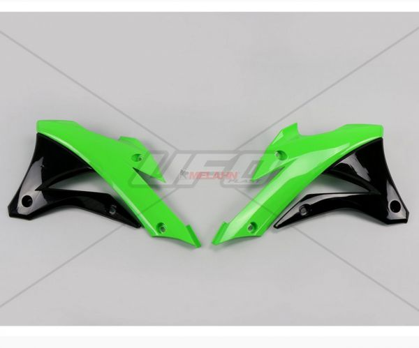 UFO Spoiler (Paar) Kühlerverkleidung KX 85 14-, original
