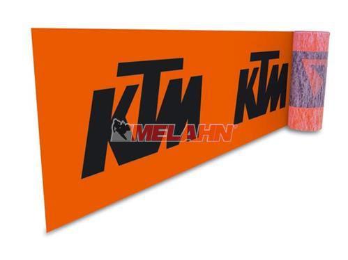 KTM Endlosbanner, orange, 80x250cm