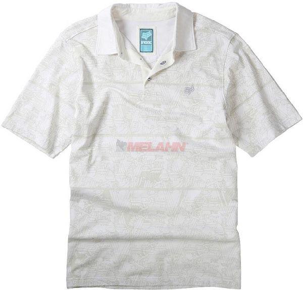 FOX Polo-Hemd: Slipstream, Gr.S, grau