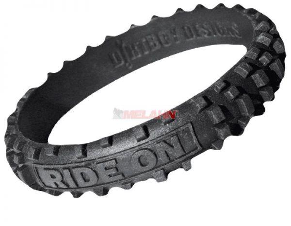 DIRTBOY Armband: MX, schwarz
