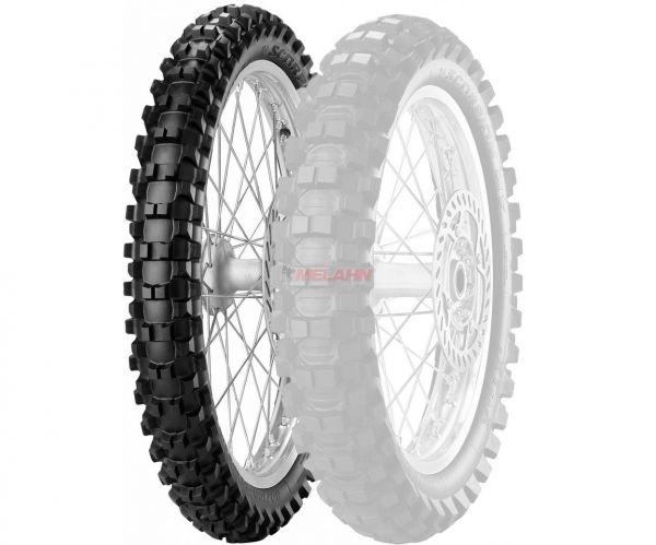 PIRELLI Reifen: 80/100-21M/C 51MMST ScXtXF