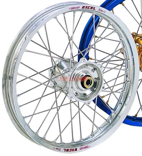 EXCEL Komplett-Rad 2,50x19 Zoll, silber