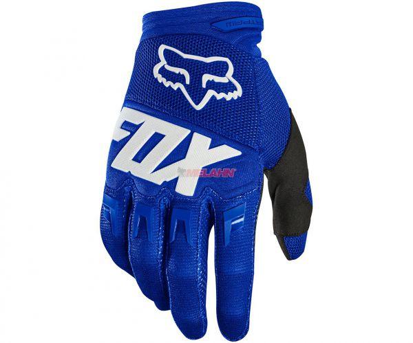 FOX Handschuh: Dirtpaw Race, blau
