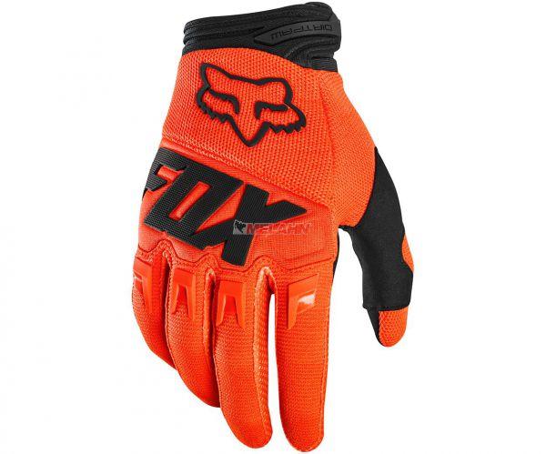 FOX YOUTH Handschuh: Dirtpaw Race, orange