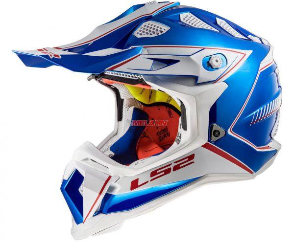 LS2 Helm: Subverter MX 470, Power, chrome blue