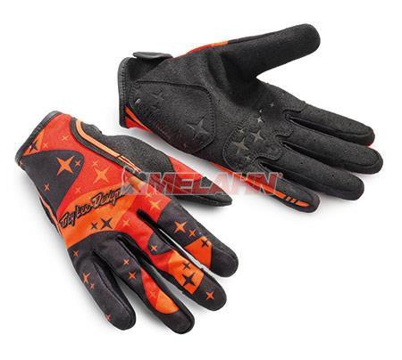 TROY LEE DESIGNS Handschuh: XC KTM, orange/camo