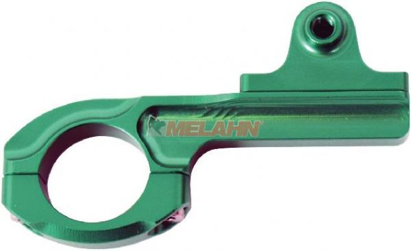 KINGTIDE Aluminium-Lenkerhalterung: passend für GoPro Kameras, 22mm , grün