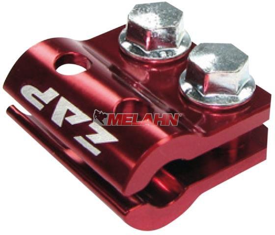 ZAP Aluminium-Bremsschlauchhalter KX/KXF/RM/RMZ 05-, rot