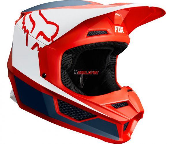 FOX Helm: V1 PRZM, blau/rot