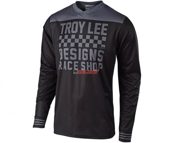TROY LEE DESIGNS Jersey: Raceshop, schwarz/weiß