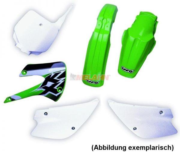 UFO Plastik-Kit KAWA KXF250 14-16, schwarz