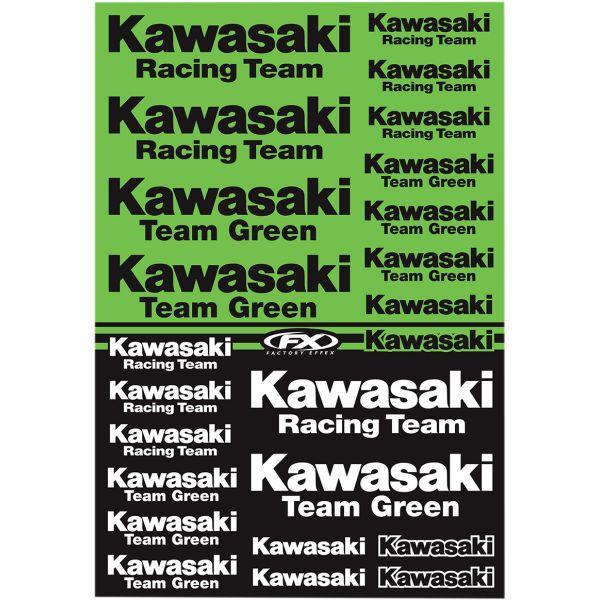 FX Generic Aufkleberkits: KAWASAKI Racing