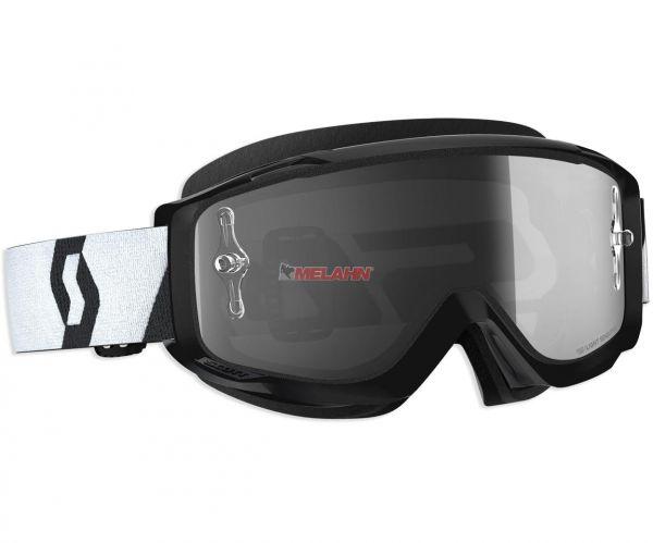 SCOTT Split OTG Goggle Motocross MTB MX Cross Brille schwarz, für Brillenträger, selbsttönend
