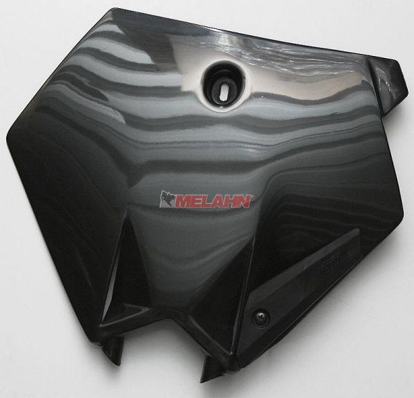 UFO Startnummerntafel vorne 85 SX 04-12, schwarz