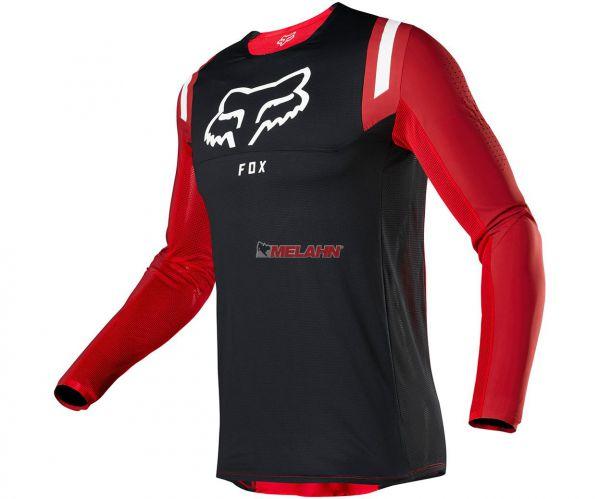 FOX Jersey: Flexair Redr, rot/schwarz