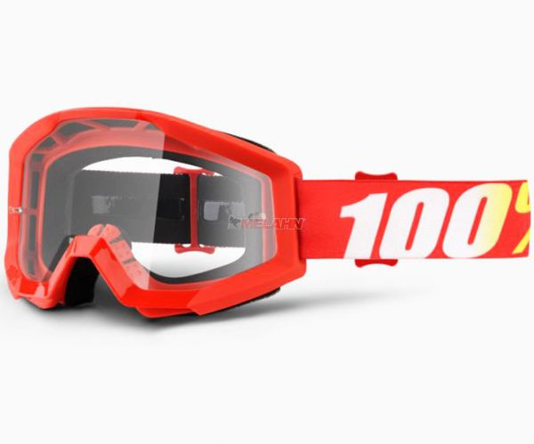 100% Brille: Strata Furnance, rot