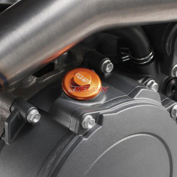 KTM SXS Aluminium-Öleinfüllschraube, orange