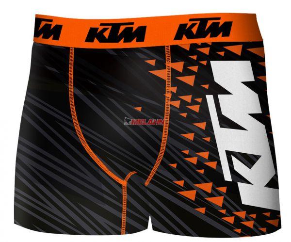 FREEGUN KTM Boxershorts: Freegun, schwarz/orange